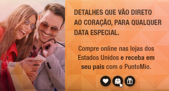 Compra online en tiendas de Estados Unidos y recibe en tu pais con PuntoMio